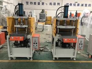 惠州客户定购铜管热压压扁机